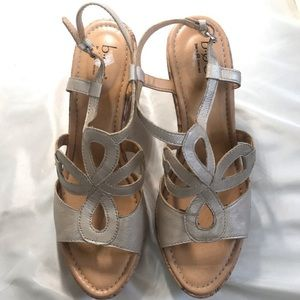 BOC Rose Gold Sandal Wedge